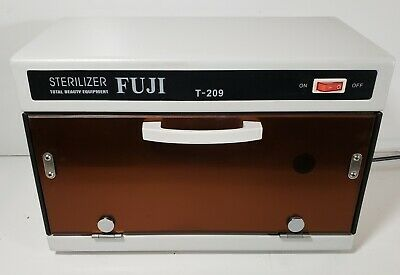 FUJI UV Sterilizer  Cabinet For Beauty Tools Towels Clippers Counter Top Model