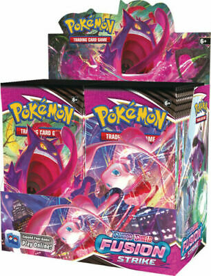 Pokemon Fusion Strike Booster Box - 36 packs - Brand New - Preorder Ships Fast