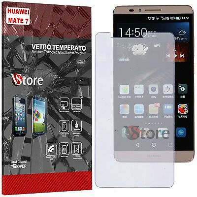 Film Tempered Glass For HUAWEI ASCEND MATE 7 Protector Dsply LCD Display