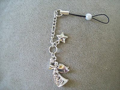 LOT OF 2 ANGEL CELL PHONE CHARMS