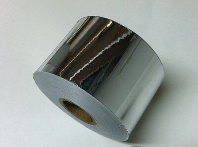 SuperBrite Polyester Chrome Tape choose your size- Mirror-Like Finish Plastic