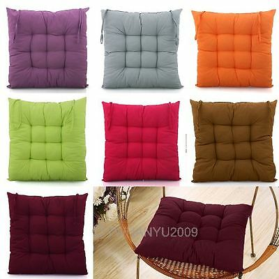 Stylish Dining Garden Chair Seat Pad Upholstery Foam Tie Replacement Cushions