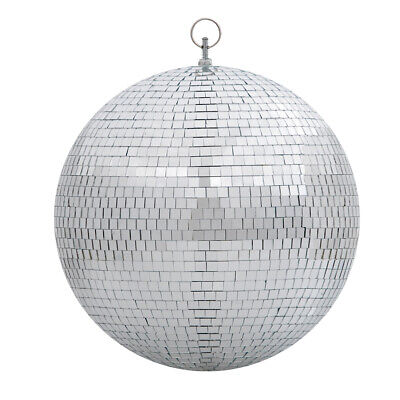 Large 12 Mirror Glass Disco Ball DJ Dance Home Party Bands Club Stage Lighting