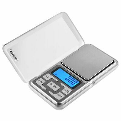 Portable 200g x 0-01g Mini Digital Scale Jewelry Pocket Balance Weight Gram LCD