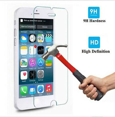 100 Genuine Screen Protector for Apple iPhone 4 5 5S 6 6P Tempered Glass Film