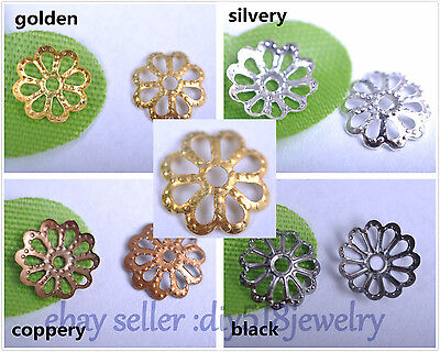 1000s 6mm  8 mm bead caps flower style for DIY jewelry necklace bracelet 3001