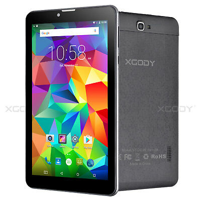 7 2SIM Dual Core Android 4-4 Touch 3G WIFI Mobile Phone Unlocked Smartphone HD