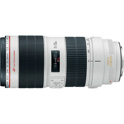 Canon EF 70-200mm f2-8L IS II USM Telephoto Zoom Lens