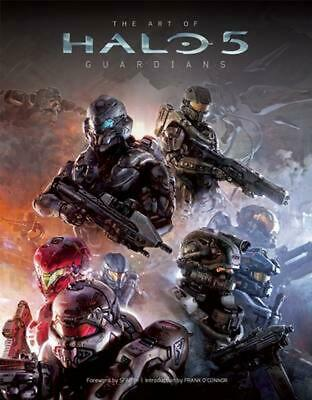 The Art of Halo 5 Guardians by Microsoft Hardcover Book English