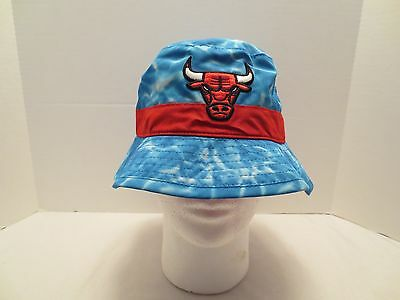 MITCHELL - NESS NBA SURF CAMO BUCKET HAT CHICAGO BULLS LXL LARGE EXTRA LARGE