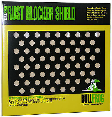 Bull Frog 91321 Rust Blocker Emitter Shield Protects up to  50 CuFt Enclosed Spc