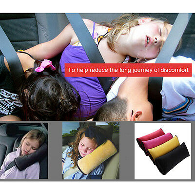 Baby Children Safety Car Seat Cover Shoulder Pad Protection cushion cover Pillow