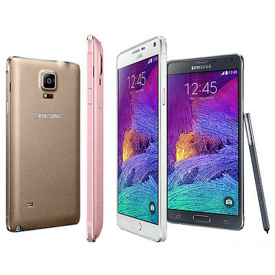 Samsung Galaxy Note 4 4G LTE GSM N910A Factory Unlocked 32GB Smartphone SRB