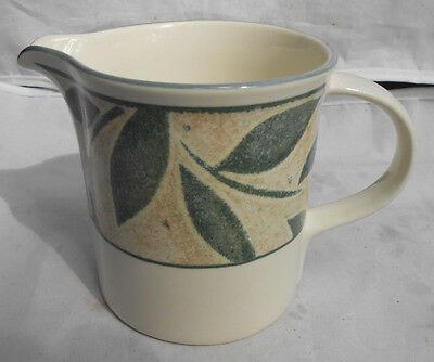 MIKASA NATURES SONG CREAMER PITCHER CAA06 GREEN LEAVES