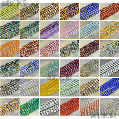 2mm 3mm 4mm Natural Gemstones Round Spacer small Beads 15-5 Jewelry Design