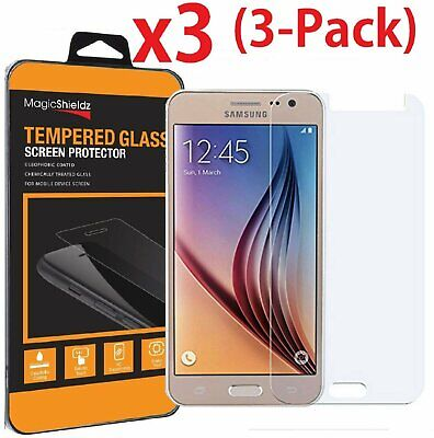 3 Pack Premium Tempered Glass Screen Protector Film For Samsung Galaxy J3 2016