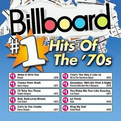 Various Artists  Billboard 1 Hits of the 70s CD