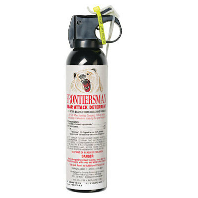Sabre FBAD-06 Frontiersman Bear Spray and Attack Deterrent 9-2 oz