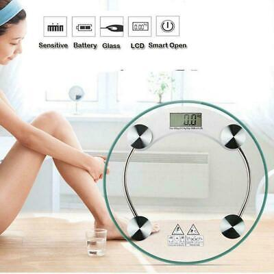 400lb180KG Bathroom Digital Electronic Glass Weighing Body Weight Scale