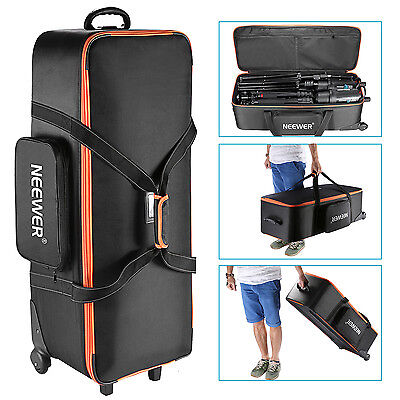 Neewer Photo Studio Equipment Trolley Carry Bag 38x15x11 with Straps