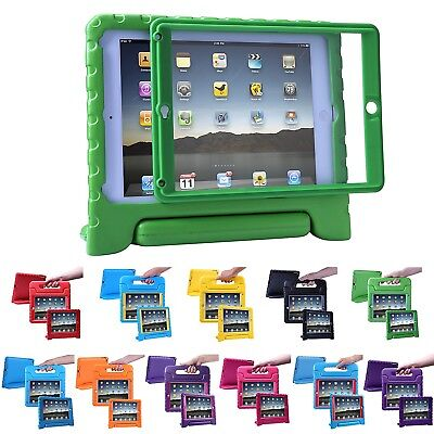 iPad 2 3 4 Case for Kids Shockproof Bumber Cover with Built in Screen Protector