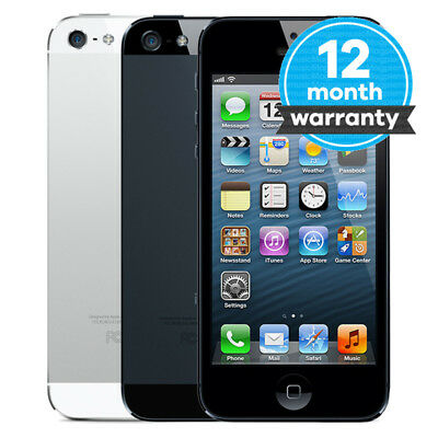 Apple iPhone 5 - 16GB 32GB 64GB - Unlocked SIM Free Smartphone Various Colours