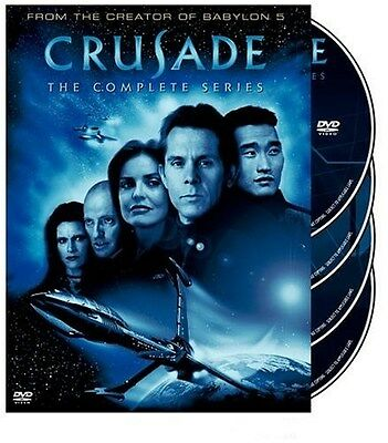 Crusade The Complete Series DVD Box Set Region 1 4-Disc Babylon 5 NEW
