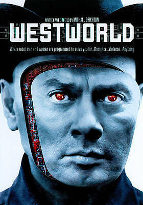 Westworld DVD Michael CrichtonDIR 1973