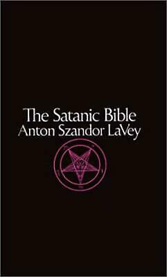 The Satanic Bible by Anton Szandor Lavey English Mass Market Paperback Book Fr