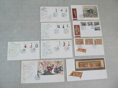 Nystamps PR China stamp souvenir sheet FDC Fist Day Cover collection high value