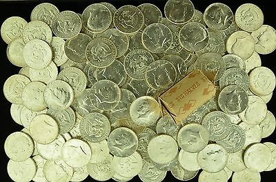 1 Roll 20 Coins of Uncirculated 1964 Kennedy Half Dollars Uk90x