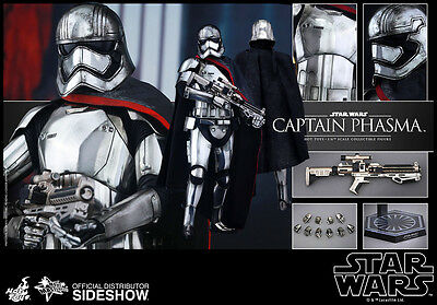 Sideshow Hot Toys Star Wars CAPTAIN PHASMA 16 Scale Figure FREE SHIPPING NEW