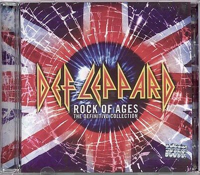 Rock Of Ages Definitive Collection - Def Leppard 2 CD Set Sealed  New