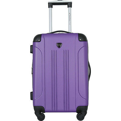 Travelers Club Luggage Chicago 20 Hardside Exp- Hardside Carry-On NEW