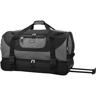 Travelers Club Luggage 30 Adventure Double Compartment Travel Duffel NEW