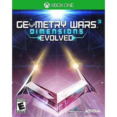 Geometry Wars 3 Dimensions Evolved Microsoft Xbox One Game NEW