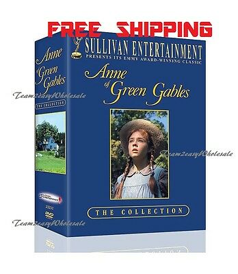 Anne of Green Gables Trilogy Box Set DVD The Collection FREE SHIPPING 3-Disc