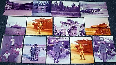LOT OF ORIGINAL VINTAGE 1970s PHOTOS 32nd ARMY AIR DEFENSE COMMAND GERMANY