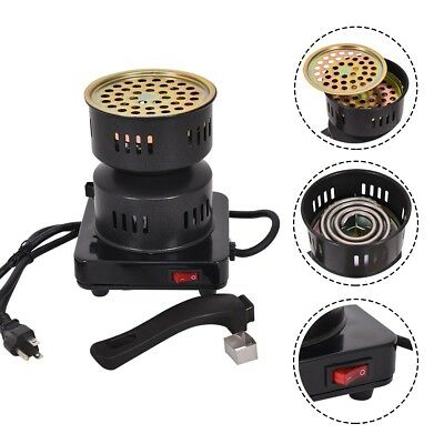Electric Coal Starter Heater Stove Charcoal Burner BBQ Stainless Steel Heating