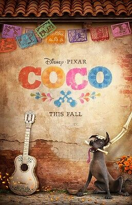 COCO Movie 27X40 ORIGINAL 2017 DS MOVIE POSTER Disney
