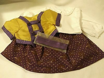 AUTHENTIC AMERICAN GIRL 18 DOLL CLOTHES 4 PIECE SET NEW