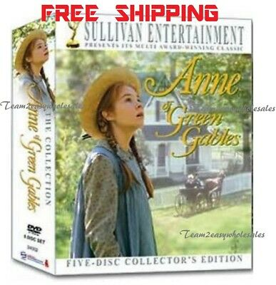 Anne of Green Gables - The Collection DVD 2008 5-Disc Set 20th Anniversary