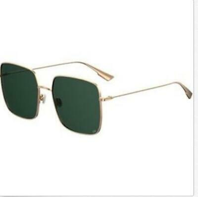 New Christian Dior STELLAIRE 1 Rose Gold Green   SUNGLASSES