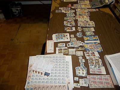 50-00 FACE VALUE UNITED STATES POST OFFICE FRESH FOR COLLECTING OR FOR  POSTAGE