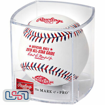 Rawlings 2018 MLB All Star Official Game Baseball Washington Nationals - Cubed