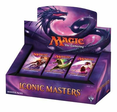 Magic The Gathering Iconic Masters 2017 Booster Box - Free Shipping