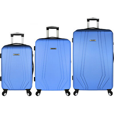 Elite Luggage Paris 3 Piece Hardside Spinner Luggage Luggage Set NEW