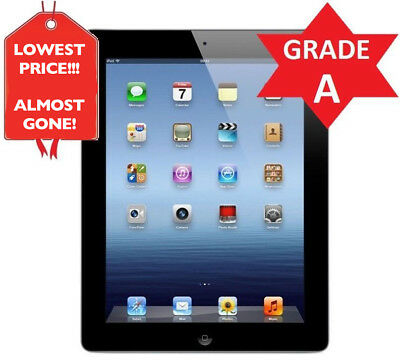 Apple iPad 2 WiFi Tablet  Black  16GB  GRADE A CONDITION R