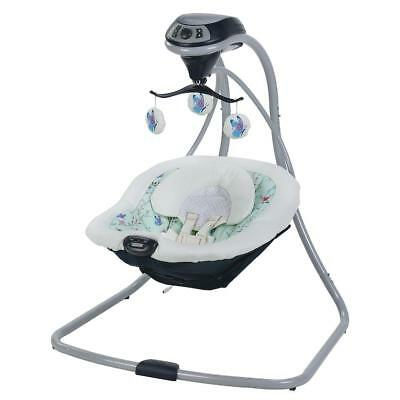 New Graco Simple Sway Swing With Compact Frame Design - Prairie ModelCE94CE98