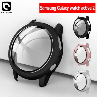 Samsung Galaxy Watch Active 2 4044mm Full Protect Case-Screen Protector Cover
